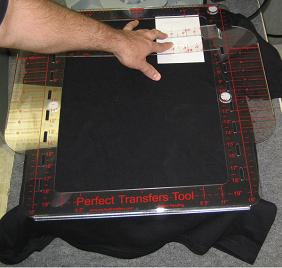Left Right Chest Design Alignment Instructions for Heat Press
